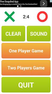 بازی اندروید تیک تاک تو - Tic Tac Toe Pro