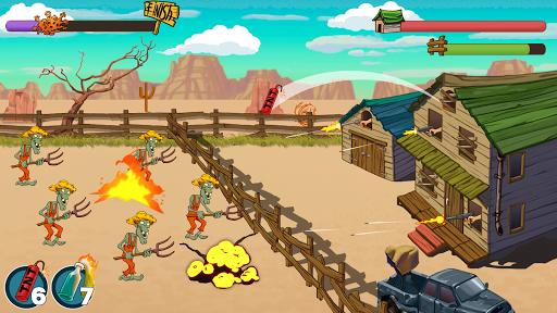 بازی اندروید زامبی رانچ - Zombie Ranch