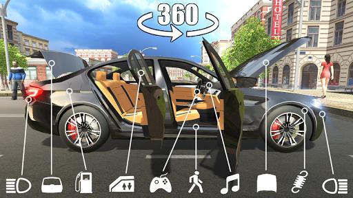 بازی اندروید شبیه ساز اتومبیل M5 - Car Simulator M5