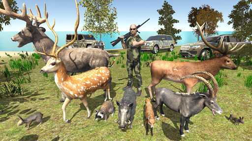 بازی اندروید شکار حیوانات اروپا - European Hunting 4x4