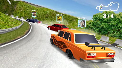بازی اندروید ماشین های آنلاین - Real Cars Online