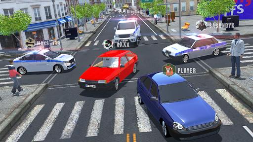 بازی اندروید شبیه ساز ماشین روسی - Russian Cars Simulator