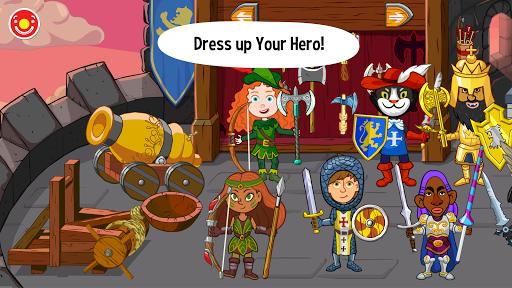 بازی اندروید قصه ها پاپی - قلعه شاه - Pepi Tales: King's Castle