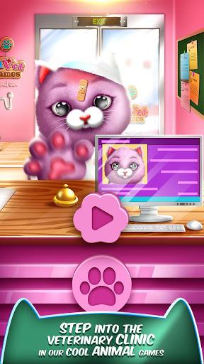 بازی اندروید مراقبت از حیوانات - Pet Vet Games Animal Care 🚑