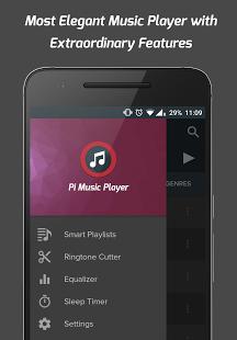 نرم افزار اندروید پای موزیک پلیر - Pi Music Player