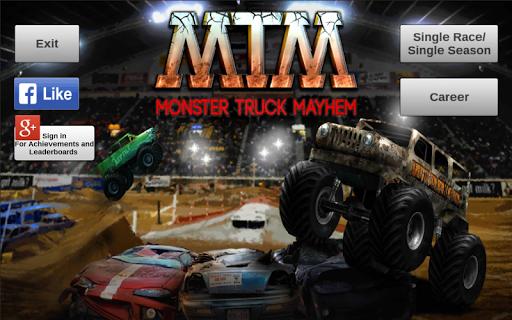 بازی اندروید ضرب و شتم وانت هیولا - Monster Truck Mayhem