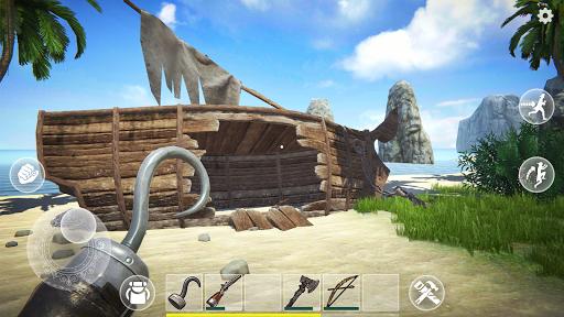 بازی اندروید آخرین دزد دریایی جزیره - Last Pirate: Survival Island