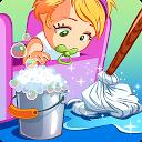 تمیز کردن خانه عروسک - اتاق شاهزاده خانم