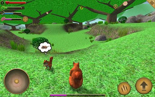 بازی اندروید شبیه ساز سنجاب - Squirrel Simulator