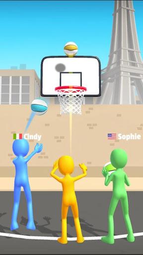 بازی اندروید پنج هوپ - بازی بسکتبال - Five Hoops - Basketball Game