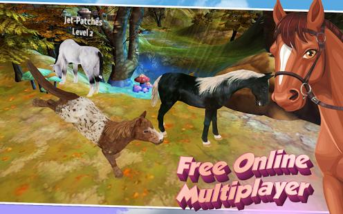 بازی اندروید اسب سواری آنلاین - Horse Quest Online 3D