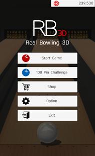 بازی اندروید بولینگ طبیعی - RealisticBowling3D -Free