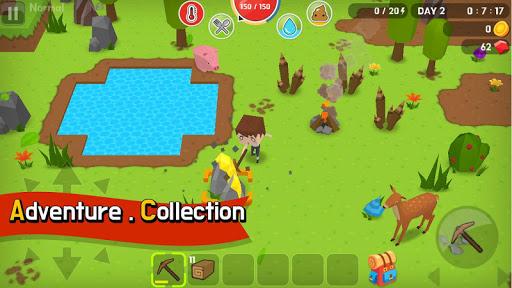 بازی اندروید معدن بقا - Mine Survival