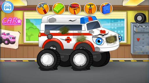 بازی اندروید تعمیر ماشین آلات - وانت هیولا - Repair machines - monster trucks