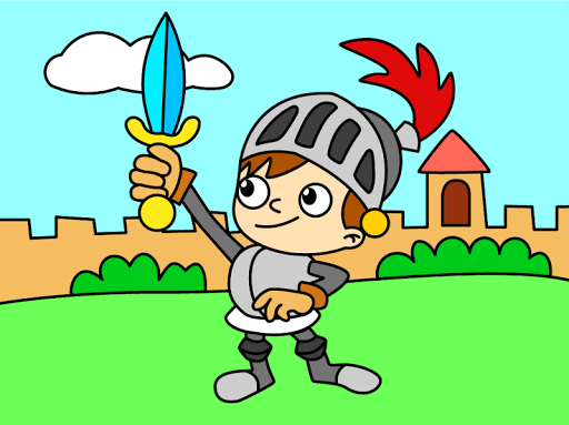 بازی اندروید رنگ آمیزی کودکان و نوجوانان - رنگ های رسم شده - Coloring Kids - Drawing colors