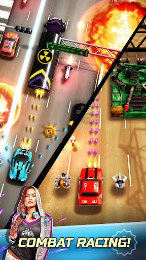 بازی اندروید هرج و مرج جاده -مسابقه مبارزه - Chaos Road: Combat Racing