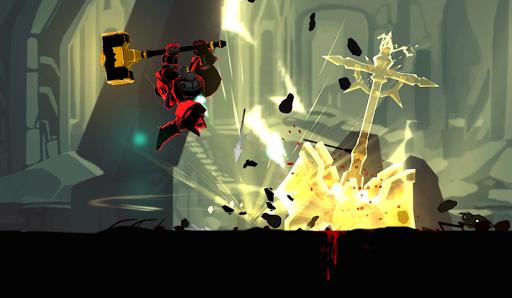 بازی اندروید سایه مرگ - مبارزه با استیکمن - شوالیه تاریکی - Shadow of Death: Stickman Fighting - Dark Knight
