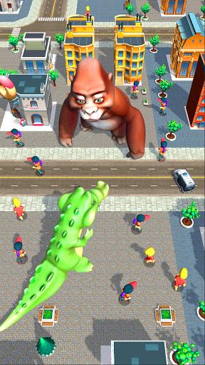 بازی اندروید خشم هیولاهای غول پیکر - Rampage : Giant Monsters