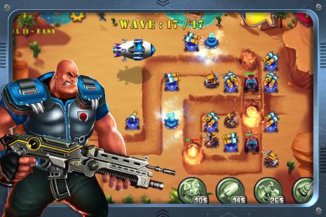 بازی اندروید دفاع از سرزمین - تکامل برج - Field Defense: Tower Evolution