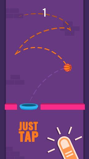 بازی اندروید پرتاب توپ - Dunk A Lot