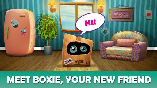 بازی اندروید بوکسی - پازل پنهان شی - Boxie: Hidden Object Puzzle