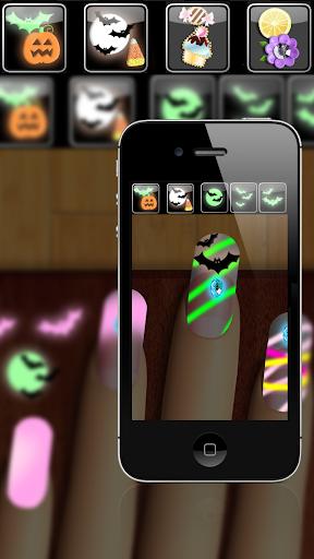 نرم افزار اندروید بازی های مانیکور ناخن های هالووین - هیولا ناخن مانی - Halloween Nails Manicure Games: Monster Nail Mani