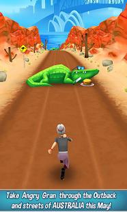 بازی اندروید دویدن مادربزرگ عصبانی - Angry Gran Run - Running Game