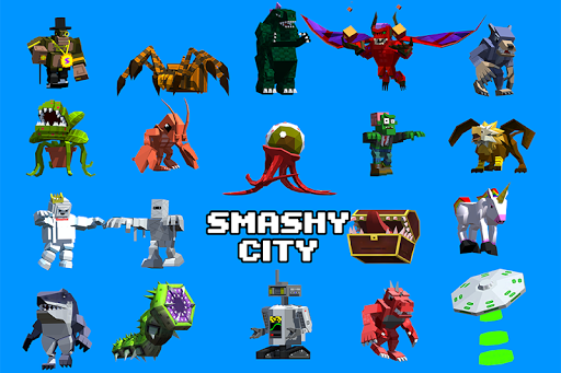 بازی اندروید بازی هیولا - شهر سر و صدا  - Smashy City - Monster Game
