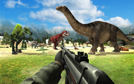 بازی اندروید شکارچی دایناسور - Dinosaur Hunter Sniper Safari Animals Hunt