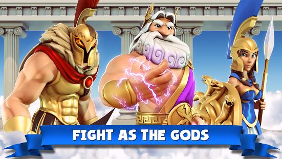 بازی اندروید خدایان آسمان - Gods of Olympus