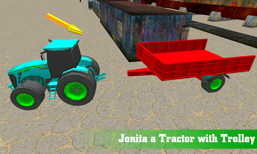 بازی اندروید تراکتور حمل و نقل 18 - Construction Tractor Transporter 18