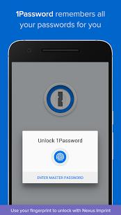 نرم افزار اندروید یک رمز عبور - مدیریت پسورد - 1Password - Password Manager