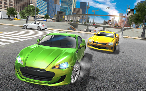 بازی اندروید شبیه ساز رانندگی اتومبیل - Car Driving Simulator Drift