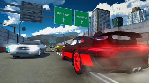 بازی اندروید شبیه ساز اتومبیل رانی - Racing Car Driving Simulator