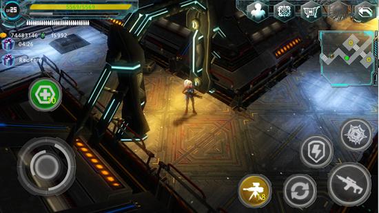 بازی اندروید منطقه بیگانه - Alien Zone Plus