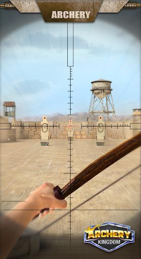 بازی اندروید پادشاه تیراندازی - کمان تیرانداز - Archery Kingdom - Bow Shooter