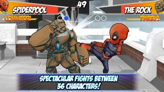 بازی اندروید مبارزه ابر قهرمانان 2 - Superheros 2 Fighting Games
