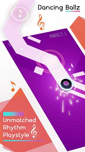 بازی اندروید رقص بالز - خط موسیقی - Dancing Ballz: Music Line
