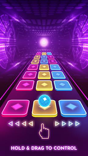 بازی اندروید رقصیدن رنگ - بازی موزیک - Color Hop 3D - Music Game