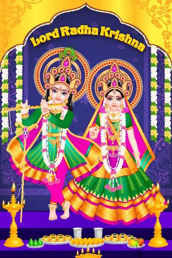 بازی اندروید معبد زنده لرد رادا کریشنا - Lord Radha Krishna Live Temple