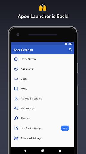 نرم افزار اندروید ایپکس لانچر - مخفی ساز برنامه - Apex Launcher - Customize,Secure,and Efficient
