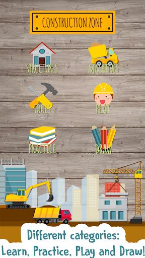 بازی اندروید بازی ساخت کودکان - بازی های آموزشی برای بچه ها - Kids Construction Game: Educational games for kids