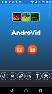 نرم افزار اندروید اندرووید - ویرایشگر ویدیو - AndroVid - Video Editor