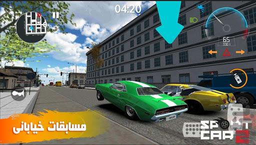 بازی اندروید ماشین اسپورت - شبیه سازی رانندگی 2019 - Sport Car : Pro drift - Drive simulator 2019