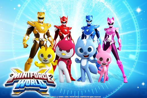 بازی اندروید مینی فورس جهانی  - Miniforce World