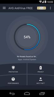 نرم افزار اندروید آنتی ویروس ای وی جی - AVG AntiVirus FREE for Android