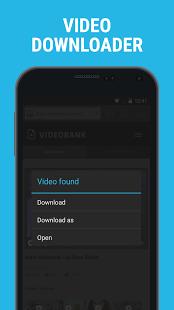 نرم افزار اندروید دانلودر و مرورگر شخصی - Downloader & Private Browser