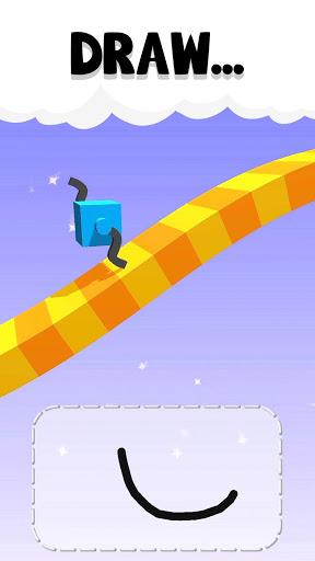 بازی اندروید صعود کوهنورد - Draw Climber