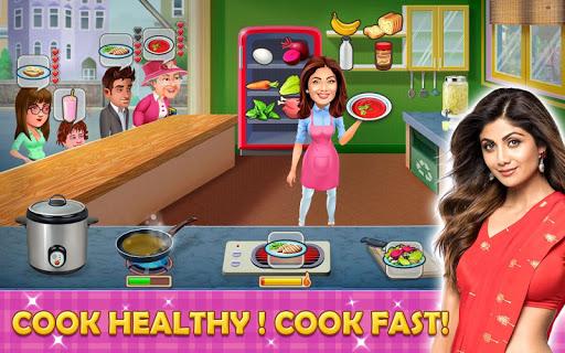 بازی اندروید سرمایه دار آشپزخانه - شیلپا شرتی - Kitchen Tycoon : Shilpa Shetty - Cooking Game