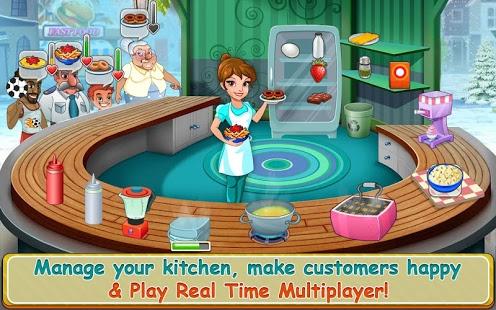 بازی اندروید داستان آشپزخانه - Kitchen Story